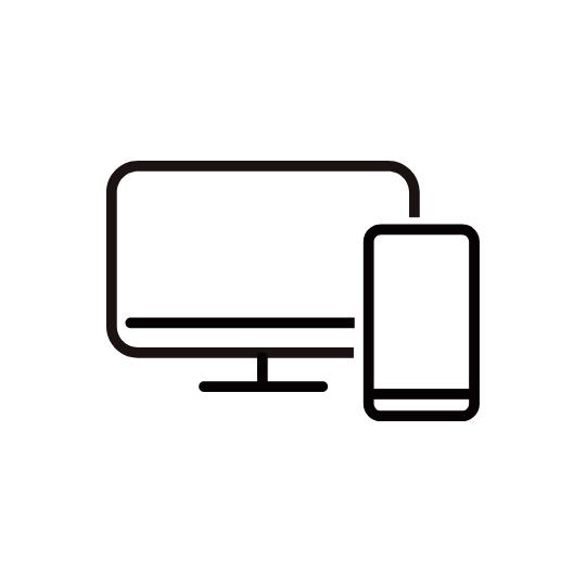web,サイトの制作から、広告、SNSの運用、インフルエンサーのアサインなどwebにかかわるすべてのプランニングをワンストップで行います。